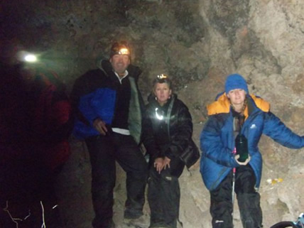 The final assent, 5 hours of walking to the summit in the dark